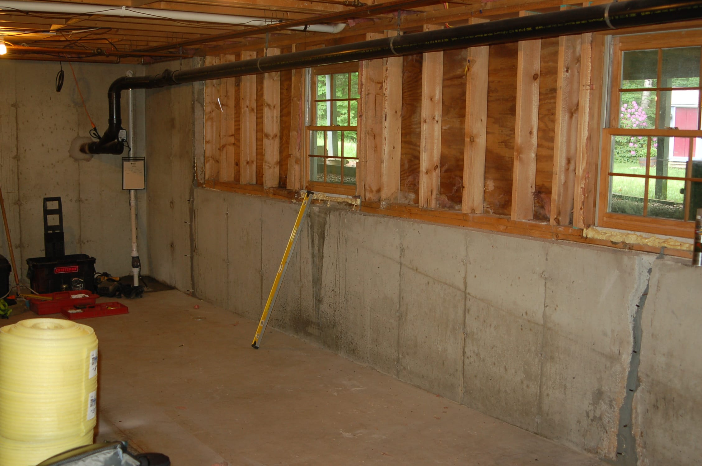 Basement Finishing Project Londonderry NH